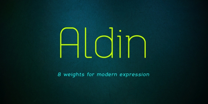Aldin by Ryan Lyse & Dathan Boardman #FreeFonts