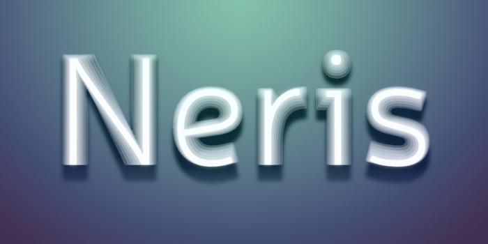 Neris by Eimantas Paškonis #FreeFonts