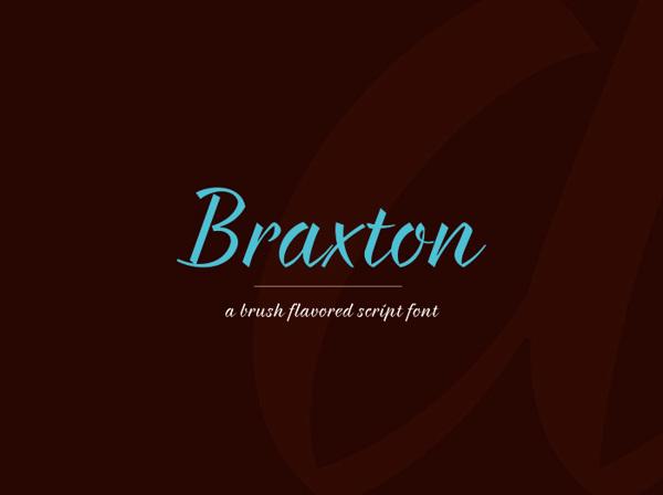 #Braxton #free #font by Evgeny Tkhorzhevsky & #fontfabric #FreeFonts