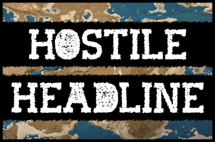 Hostile Headline by Frédéric Rich #FreeFonts