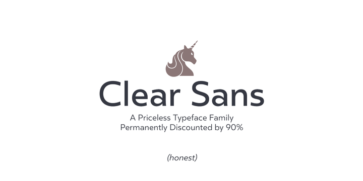 Clear Sans by Positype #FreeFonts #typography